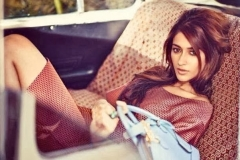 Actress Ileana D'Cruz Latest Cute Hot Exclusive Spicy Photoshoot Gallery For Grazia Magazine Feb 2014 Photoshoot