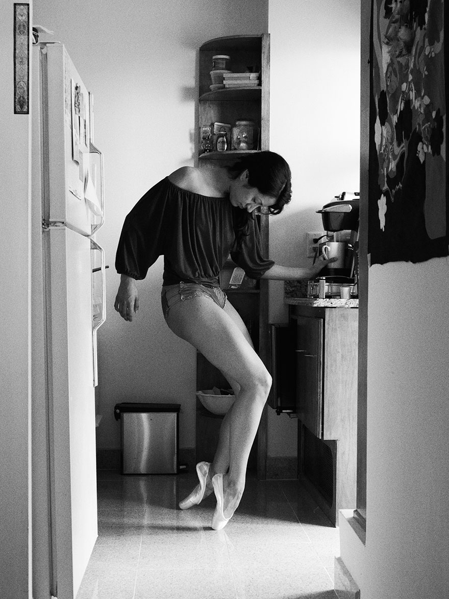 Home Stage: David perkins Photograph Dancers In Their Own Homes