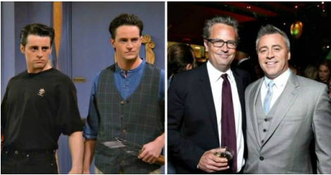 This Picture Of Joey & Chandler Shows How Time Flies. Yet Our Love For 'Friends' Remain Unfazed!