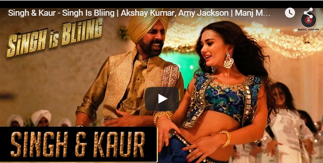 Singh Is Bliing music video – Amy Jackson