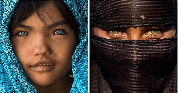 Photos Show That Eyes Are Windows To The Soul