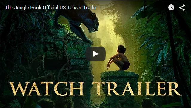 The Jungle Book Official US Teaser Trailer