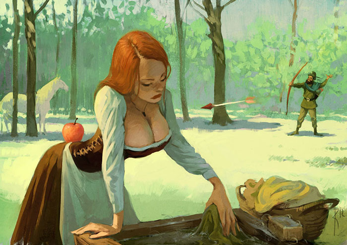 Controversial Illustrations Full Of Hidden Messages By Russian Artist