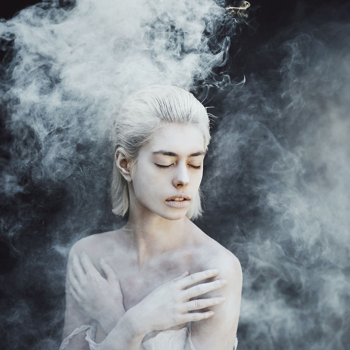 Photographer Use Smoke Bombs To Create Powerful Portraits