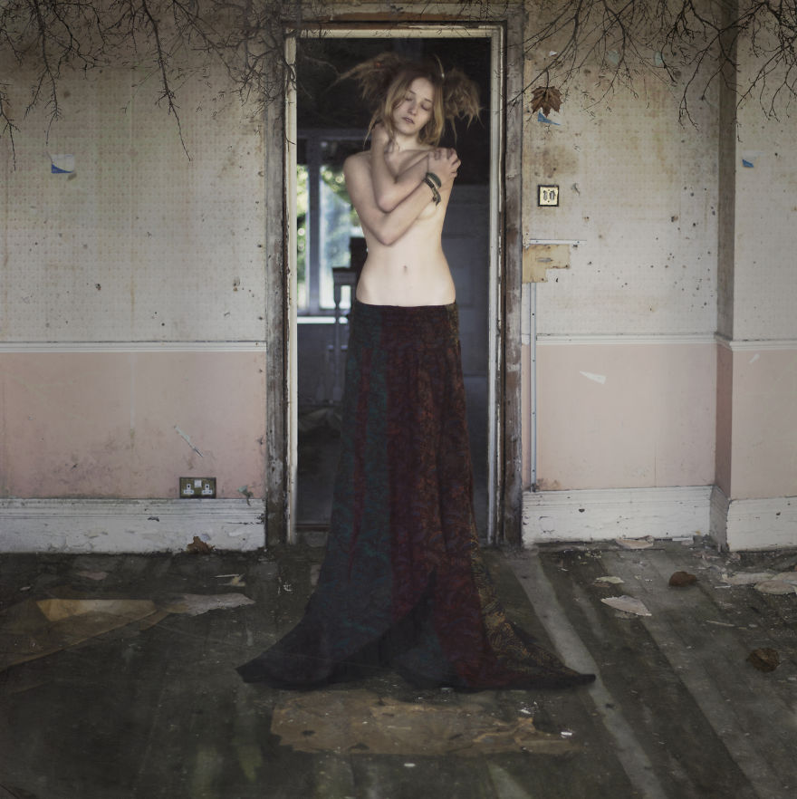 Photographer's  Dark Fantasies Of Urban Decay