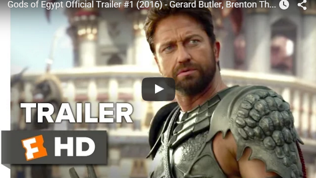 Gods of Egypt Official Trailer(2016) – Gerard Butler, Brenton Thwaites Movie HD