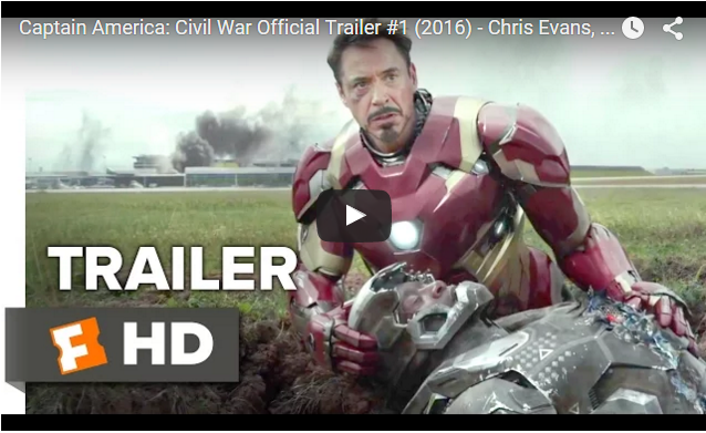 Captain America: Civil War (2016) – Chris Evans, Scarlett Johansson Movie HD