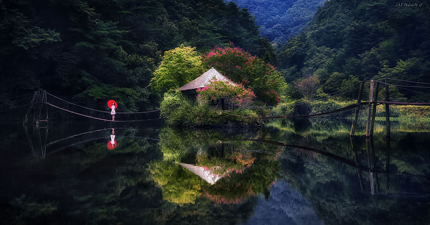 Stunning Reflected Landscapes Capture The Beauty Of South Korea