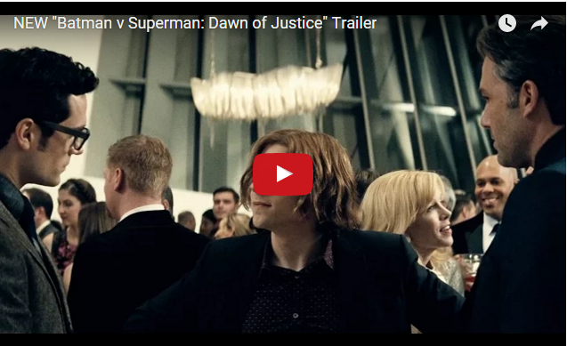 "NEW ""Batman v Superman: Dawn of Justice"" Trailer"