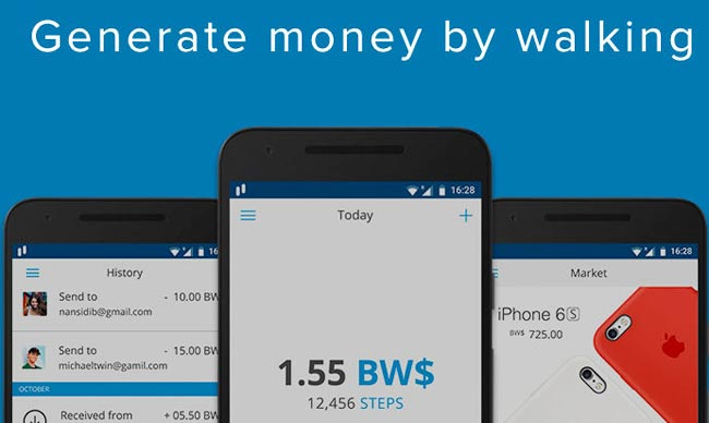 Bitwalking Dollars: Digital currency pays people to walk