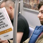 Guy Takes Fake Book Covers Onto Subway To See How People React