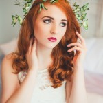 Designer Created A Butterfly Hair Crown