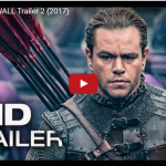 THE GREAT WALL Trailer – Matt Damon Movie
