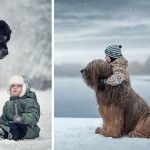 Little Kids And Their Big Dogs |Photography
