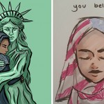Artists Around The World Respond To Trump's Refugee Ban