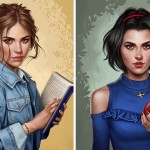 Illustrator Shows How Disney Princesses Would Look Like If They Lived In 2017