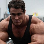 This Jacked Bodybuilder Is Playing Arnold Schwarzenegger In The Movie 'Bigger'