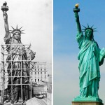 How 20 World Famous Buildings And Statues Looked During Their Construction