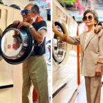 Senior Couple Poses With Clothes That Their Clients Didn't Collect And The Pics Just went Viral on Internet