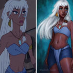 Artist Turns Disney Animals Into Humans Using Her Own Unique Style