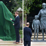On Princess Diana's 60th Birthday, Her Sons Prince Harry And Prince William Honored Their Mother By Unveiling Her Statue